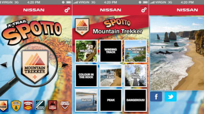 iPhone: Nissan Jumps On Instagram Wagon With X-Trail Spotto App
