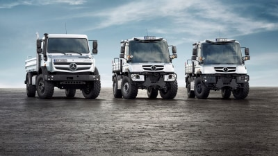 2013 Mercedes-Benz Unimog Gets New Engines, New Variants