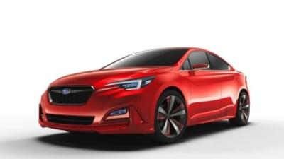 Subaru previews new Impreza sedan