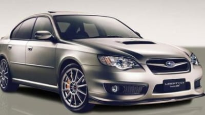 Subaru Liberty GT Spec B By STi - Impreza's Good Looking Big Brother