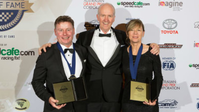 Neal Bates And Coral Taylor Inducted Into Motor Sport Hall Of Fame