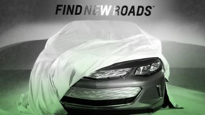 2016 Holden Volt Face Revealed Ahead Of Detroit Auto Show Debut