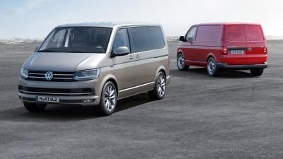 Volkswagen Transporter: New 2016 'T6' Van Range Revealed