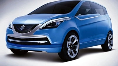 Suzuki R3 MPV Concept Revealed At Delhi Auto Expo
