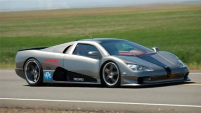 SSC Ultimate Aero Twin Turbo - New Worlds Fastest Production Car