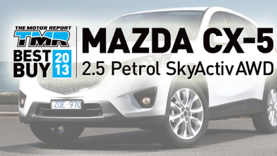 BEST BUY AWARD 2013 Winner: MAZDA CX-5 2.5 Litre SkyActiv AWD