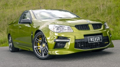 2014 HSV GTS Maloo Review: Preview Drive