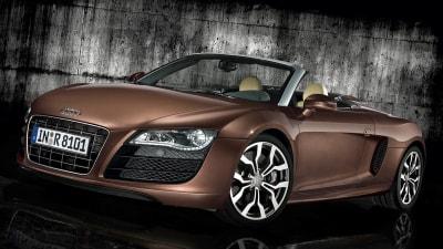 2011 Audi R8 Spyder 5.2 FSI Launched In Australia