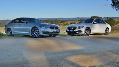 Large Luxury Lowdown - BMW 530i v Mercedes-Benz E300 Comparison Test