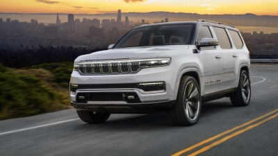 Jeep Grand Wagoneer concept revealed