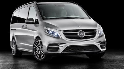Mercedes-Benz Reveals Concept V-ision-e Plug-In Hybrid Van