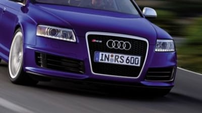 Audi RS6 Sedan to be Unveiled at Paris Motor Show