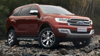 New Ford Everest Off-Road SUV Debuts In Bangkok