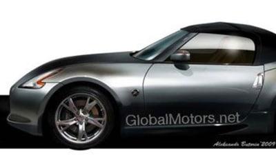 2009 Nissan Z34 370Z Convertible To Make New York Debut?