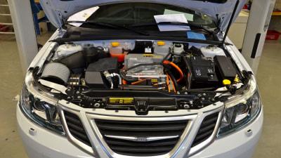 Saab 9-3 ePower Test Fleet In Production