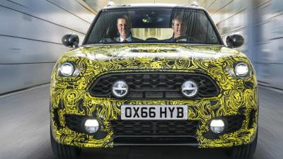 MINI Previews First Plug-In Hybrid – New MINI Countryman E