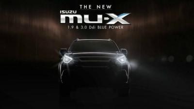 Another Updated Isuzu MU-X Set For Launch In Thailand