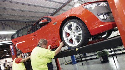 Ford Completes First In-house FPV Build At Broadmeadows Plant
