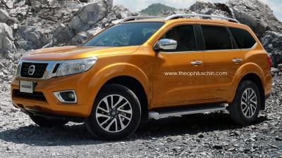 2015 Navara's SUV Offshoot Rendered