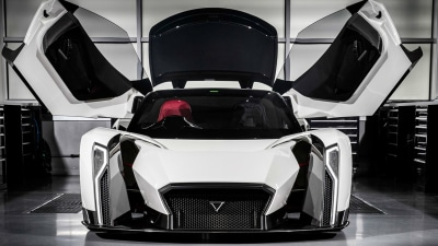 A Supercar From Singapore - Dendrobium Debuts In Geneva