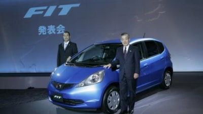 Honda Jazz wins 2007 Japan Car of the Year award