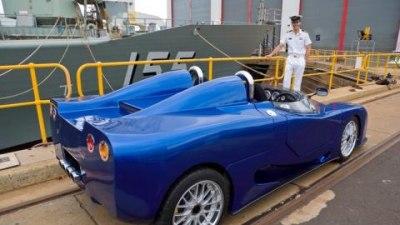 E-Vade shakedown prior to 2008 Melbourne Motor Show