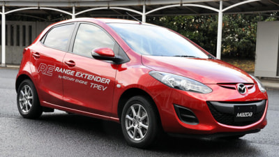 Mazda Has Rotary Electric Car Range-Extender Engine And Auto Start-Stop Under Development