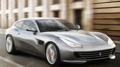 Ferrari unveils new V8-powered GTC4 Lusso T