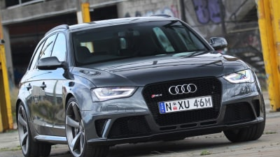 2013 Audi RS4 Avant Wagon Review