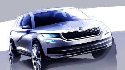 Skoda Begins Teaser Campaign For Kodiaq SUV