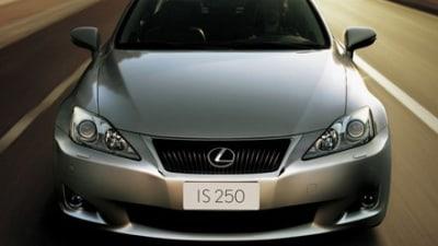 2009 Lexus IS Facelift Official Photos