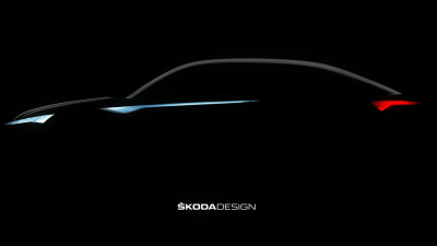 Skoda Teases Vision E Concept - Is This The Kodiaq Coupe?