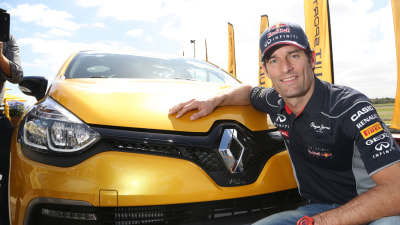 Mark Webber Debuts New Clio RS In Melbourne Ahead Of Early 2014 Launch