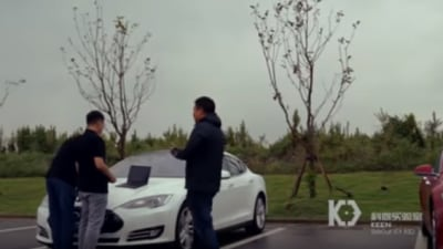 Tesla Model S Exposed By 'White-Hat' Chinese Hackers - Tesla Immediately Responds