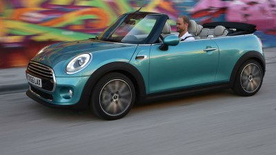 MINI Cooper Convertible Unveiled For 2016 Ahead Of Tokyo Motor Show