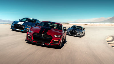 Supercharged Ford Mustang GT500 debut