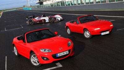 Mazda To Celebrate MX-5's 20th Birthday At Le Mans
