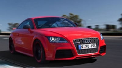Quick Spin: Audi TT RS Plus