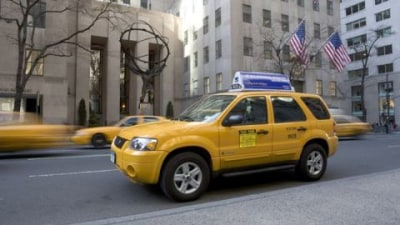 Hybrid Taxis rampant in NY