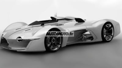 Renault Alpine Vision Gran Turismo Virtual Race Car Leaked
