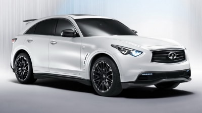Infiniti FX Performance Concept Inspired By F1 Hero Sebastian Vettel