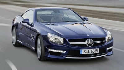 Mercedes Reveals New SL 65 AMG, First-quarter 2013 Australian Launch Set