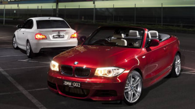 2011.5 BMW 1 Series Coupe And Convertible Hit Australia