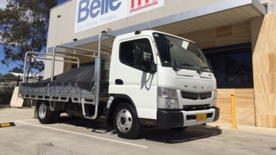 Fuso Canter 515 Wide Cab Short Haul review