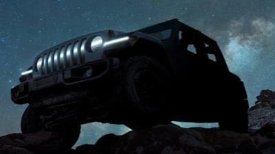 Electric Jeep Wrangler concept confirmed for March/April unveiling
