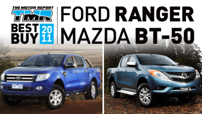 Ford Ranger/Mazda BT-50 Twins Head TMR's Top Ten Best Buys of 2011