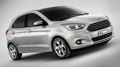New Ford Ka Concept Revealed