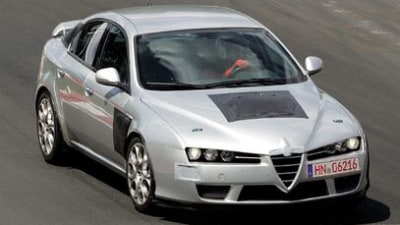 Alfa 159 GTA gets Ferrari V8 power