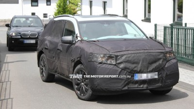 2013 Honda/Acura MDX Spied, Hybrid Power Possible
