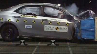 ANCAP: 5 Star Safety For Corolla Sedan, WRX And Peugeot 5008